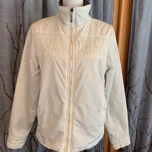 Burton L White quilted nylon zippered coat